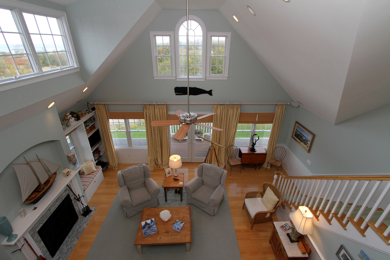 33 Jonathan Drive Living Room from Loft