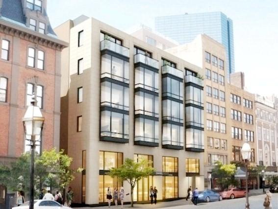 No 6 newbury back bay luxury residences for sale Home architecture newbury
