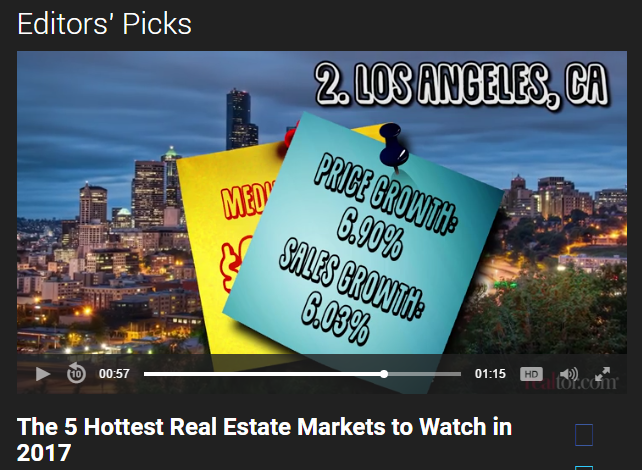 The 5 hottest real estate markets to watch in 2017 for Hot real estate markets