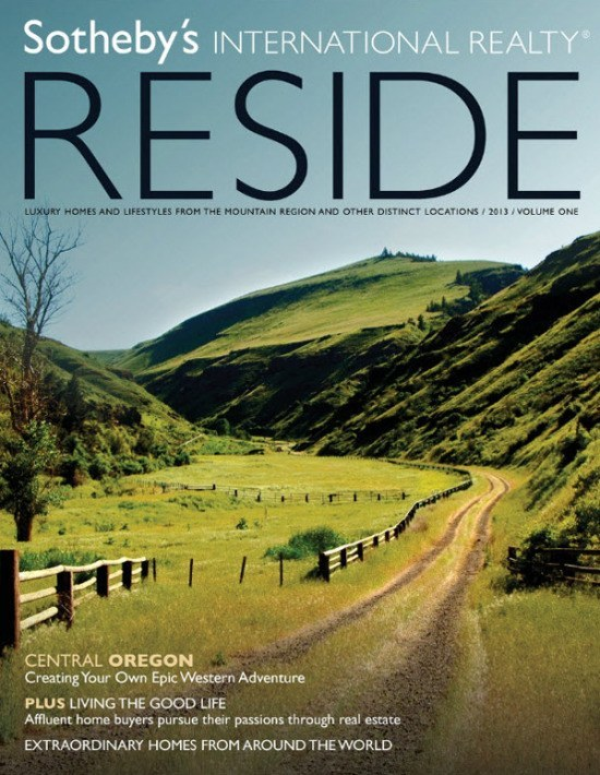 Sotheby's Reside magazine, winter 2012