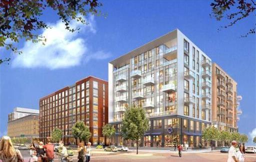 The Vacant Site Of The Boston Herald Is Proposed For A New Development That  Will House INK BLOCK U0026 SEPIA, 470 Apartments/Condos For Sale South End, ...