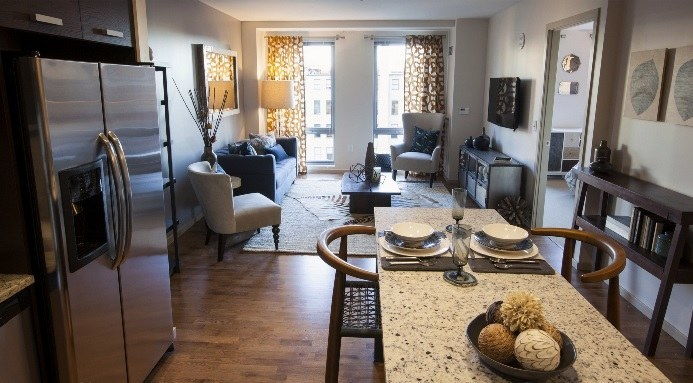 Image gallery nice apartments in boston for Apartment complex for rent