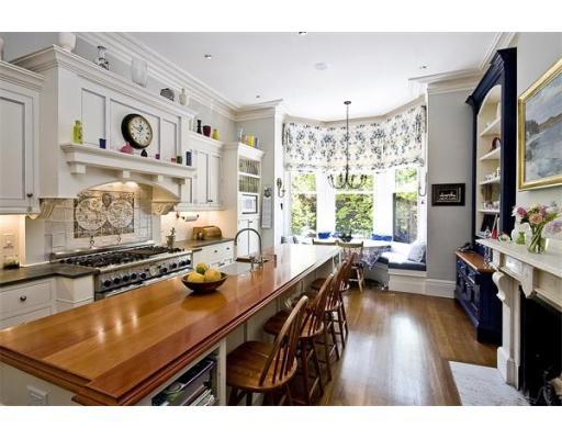 Back Bay Single Family Home With Inset Cabinets