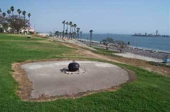 Bixby Park Long Beach Ca February