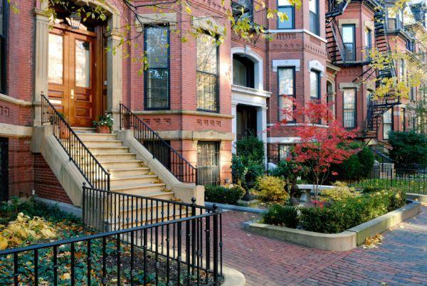 Дома в бостоне фото