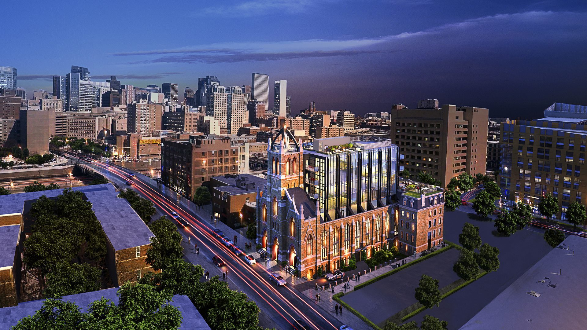 The Lucas Boston New South End Luxury Condos At Old Holy Trinity Church Site