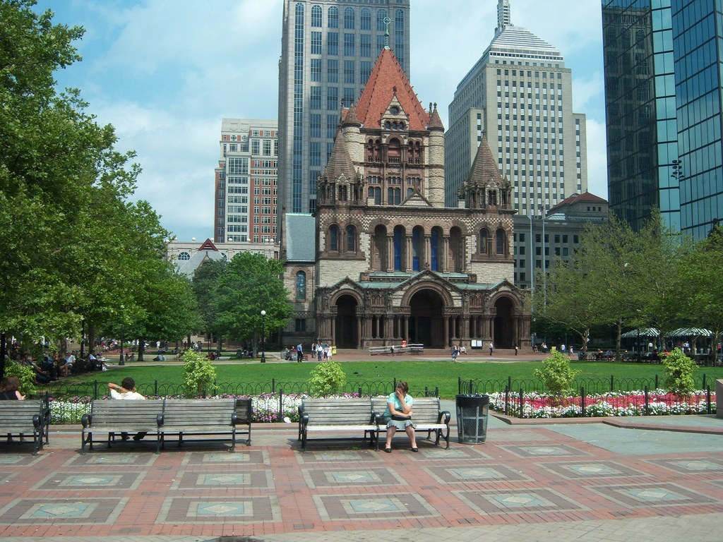 Back Bay Church near Copley Plaza Capital Residential Group