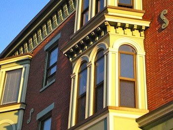 South End is a Boston neighborhood with Victorian brownstones
