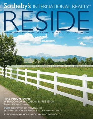 reside magazine from sotheby's