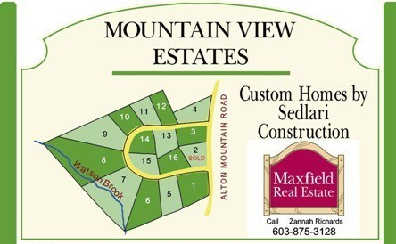 The Mountain View Estates in Alton NH