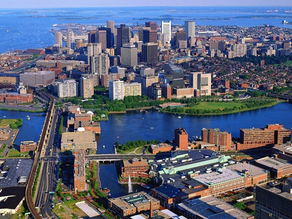 Bird s eye view of the amazing city of Boston MA. Boston MA Apartments for Rent   Metro Realty Corp